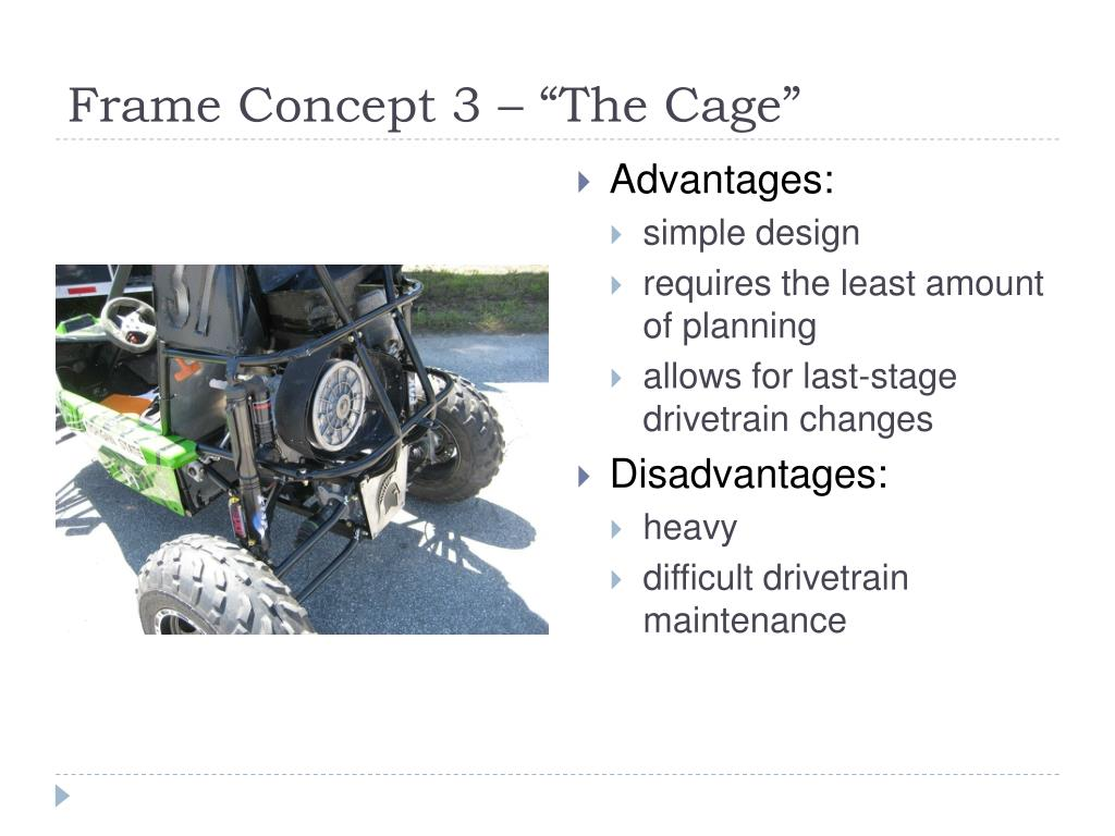 """Frame Concept 3 – """"The Cage"""""""
