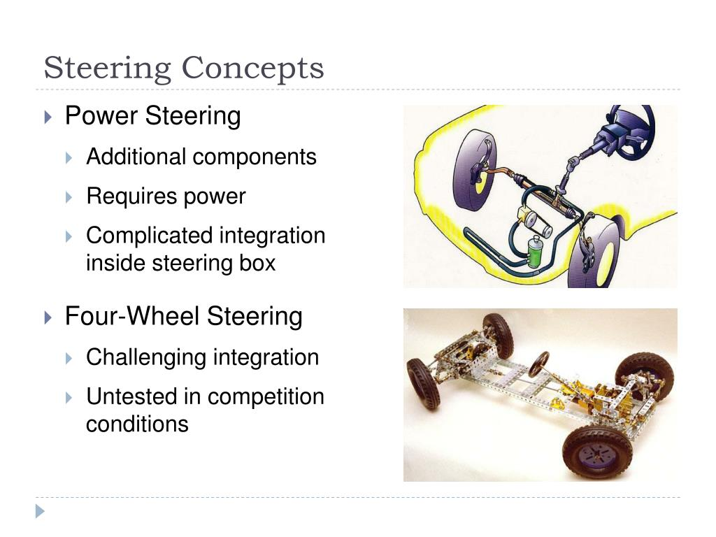 Steering Concepts