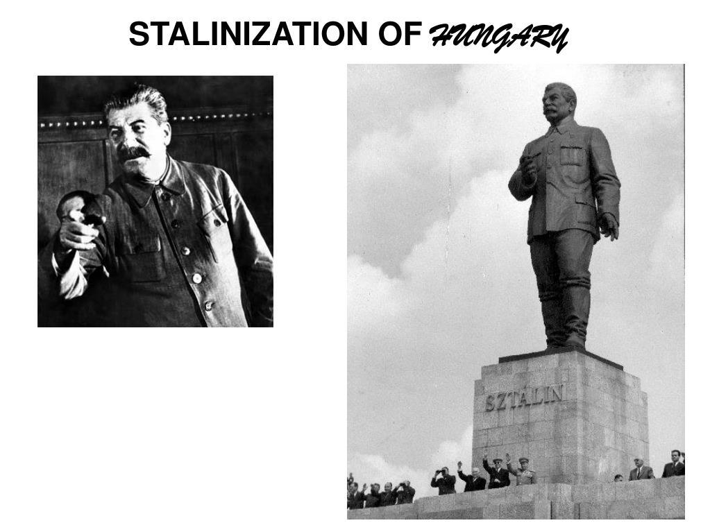 STALINIZATION OF