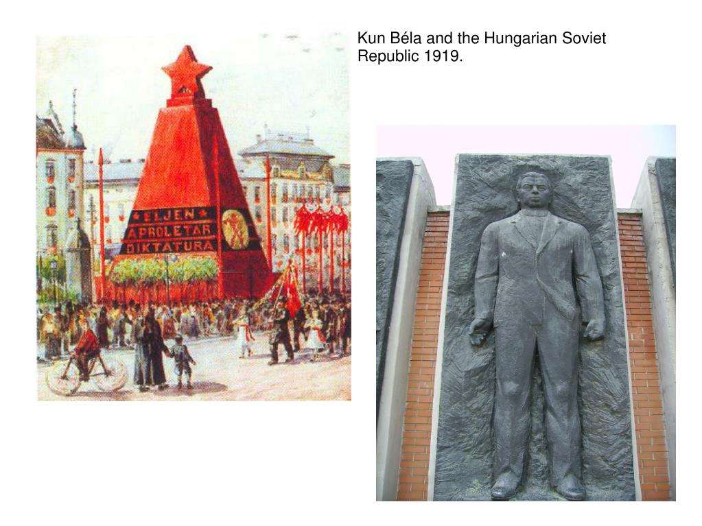 Kun Béla and the Hungarian Soviet Republic 1919.