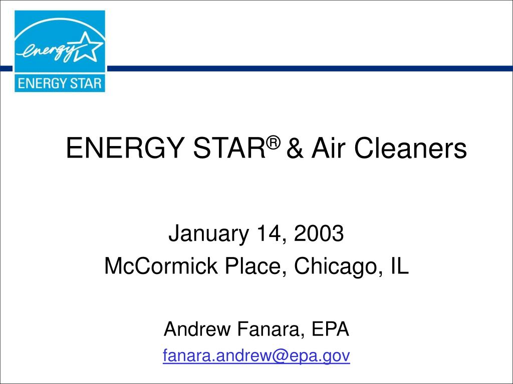 energy star air cleaners l.