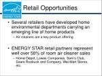 retail opportunities
