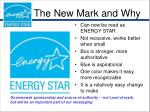 the new mark and why