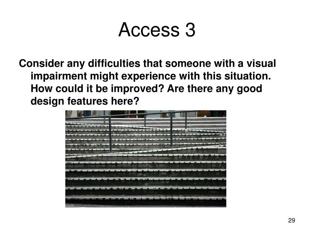 Access 3
