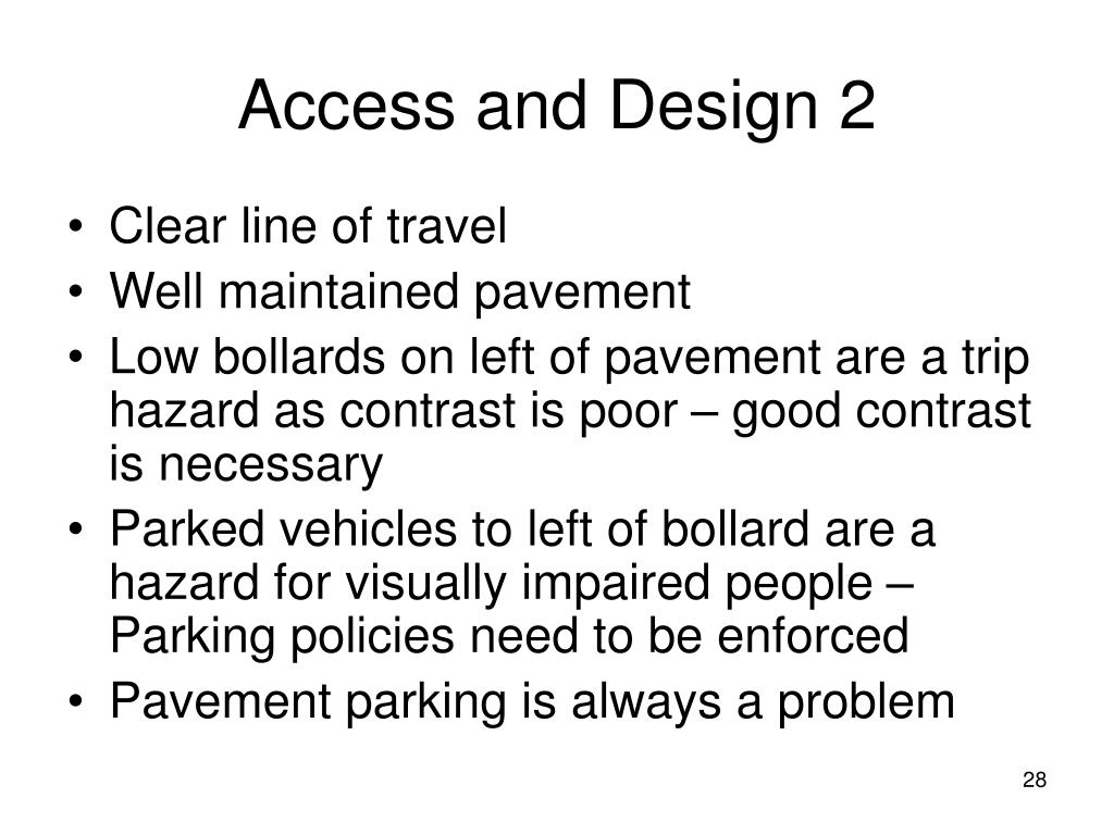 Access and Design 2