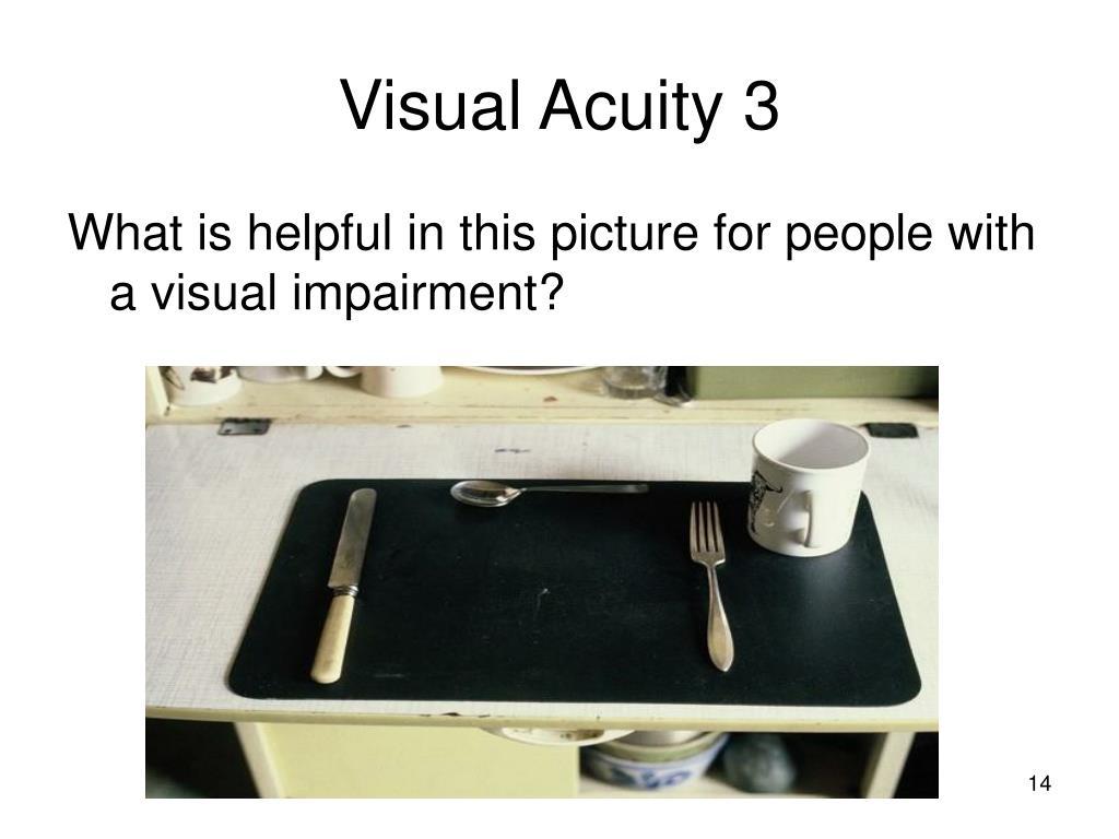 Visual Acuity 3