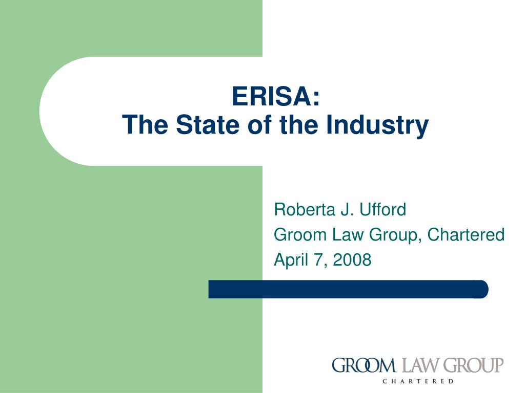 erisa the state of the industry