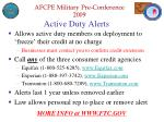 active duty alerts