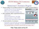 homeowner s assistance program