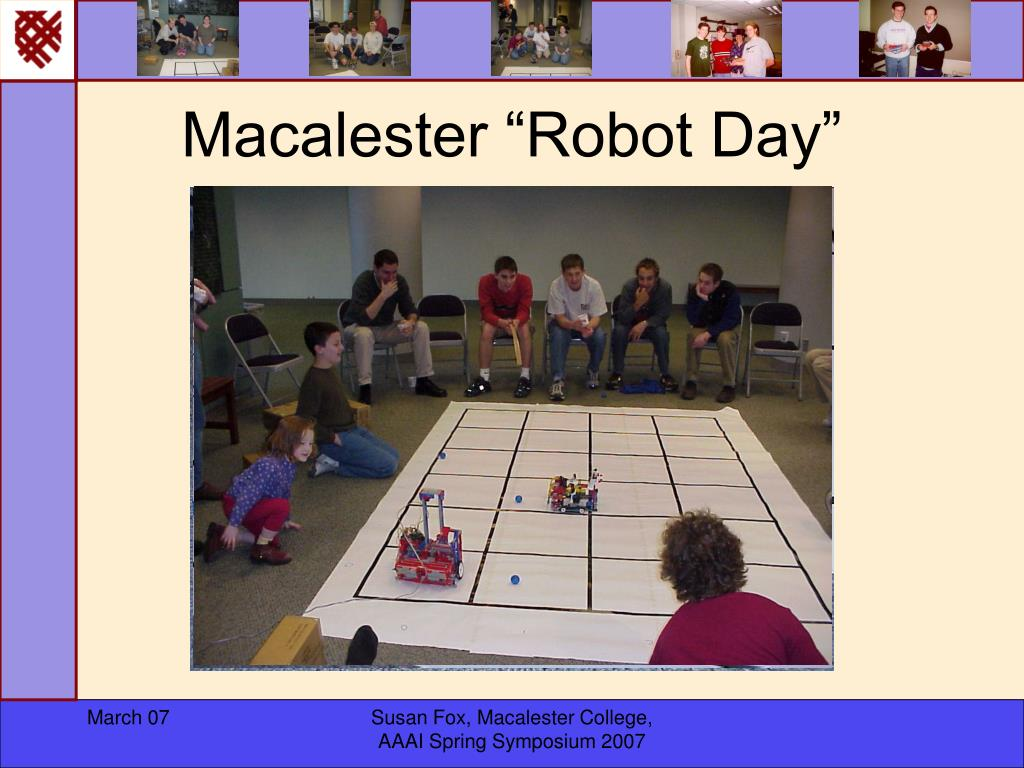 """Macalester """"Robot Day"""""""