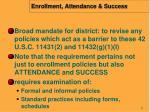 enrollment attendance success
