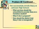 problem 2 continued