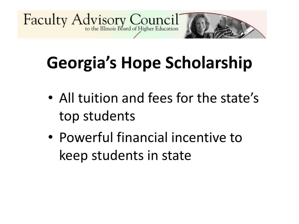 Georgia's Hope Scholarship