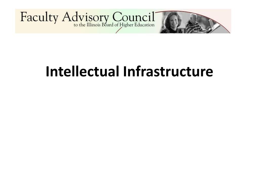 Intellectual Infrastructure