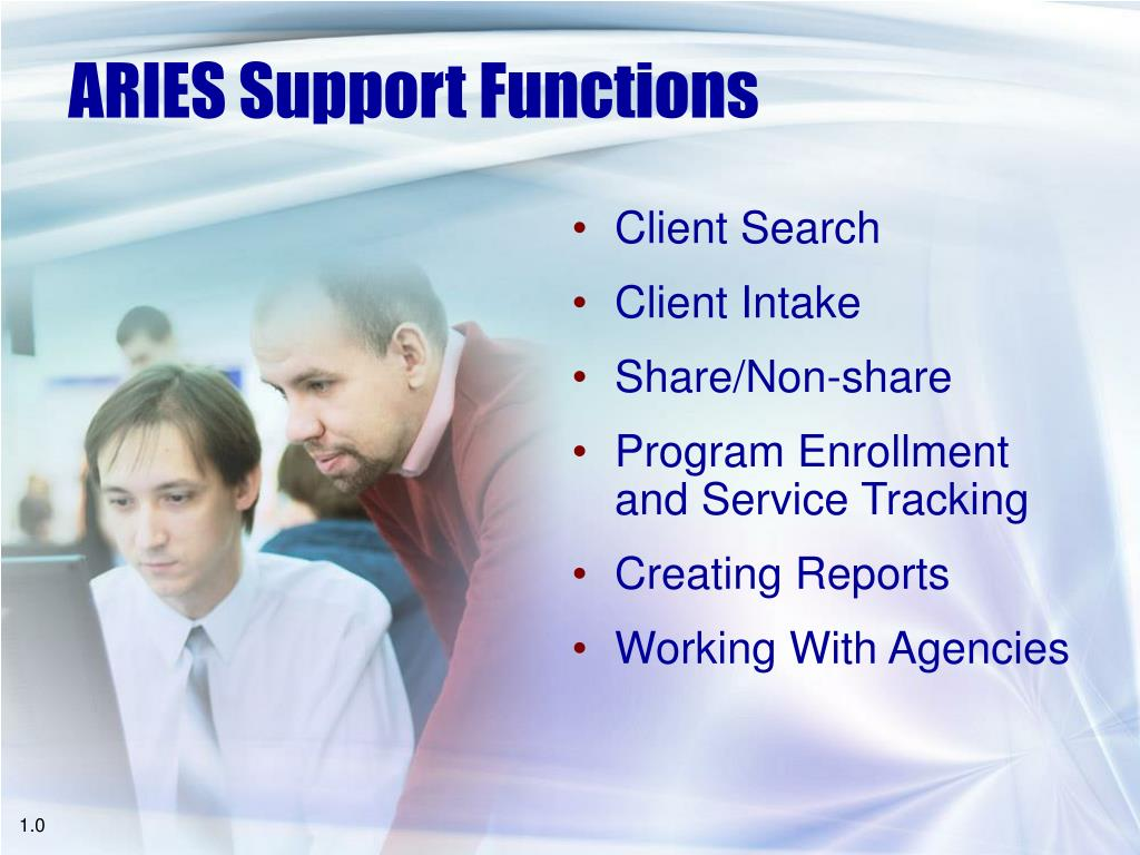 ARIES Support Functions