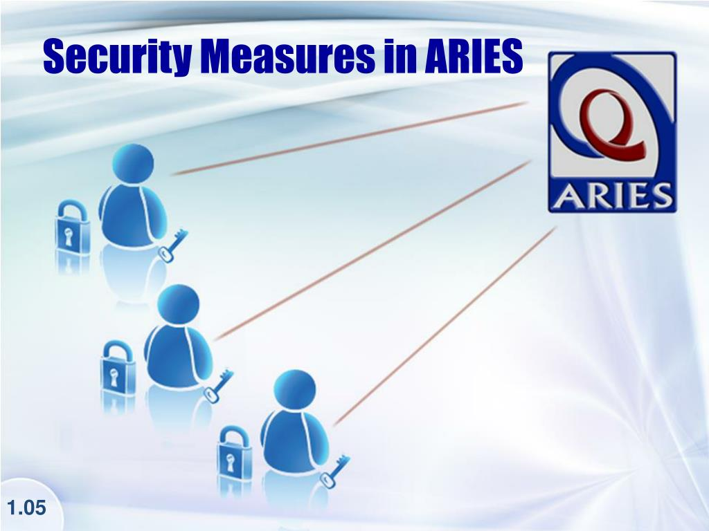 Security Measures in ARIES