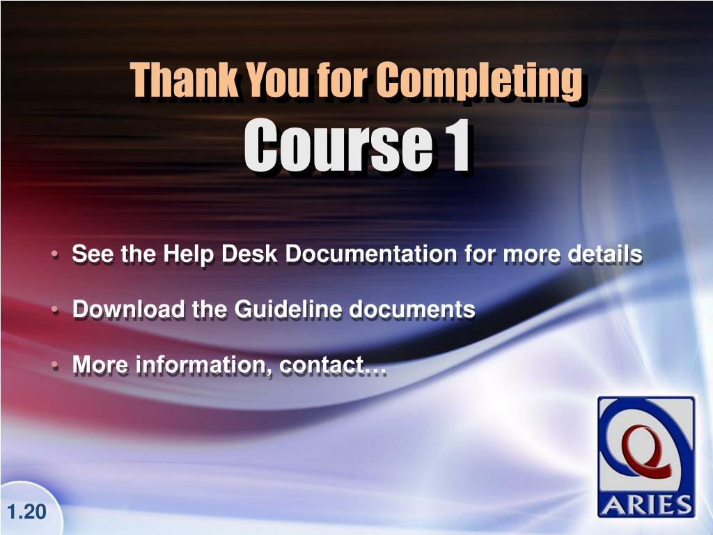 See the Help Desk Documentation for more details