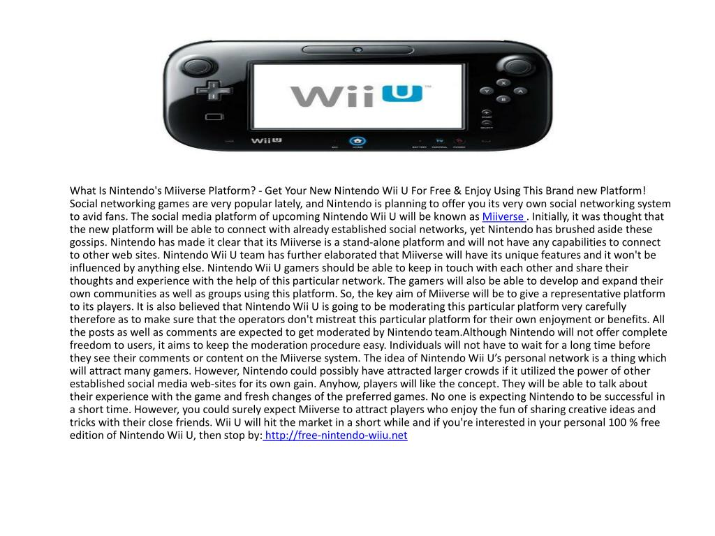 What Is Nintendo's