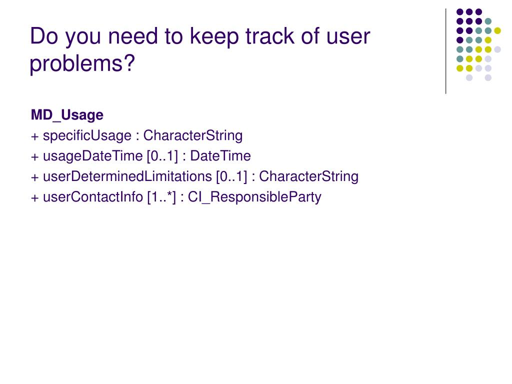 Do you need to keep track of user problems?