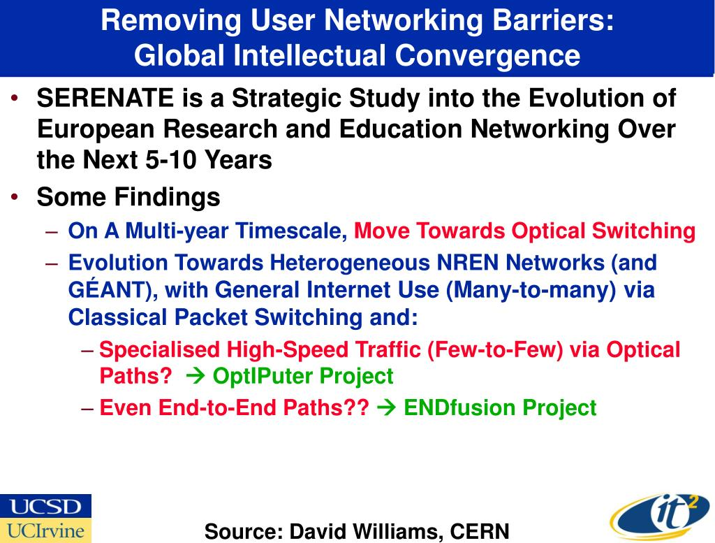 Removing User Networking Barriers: