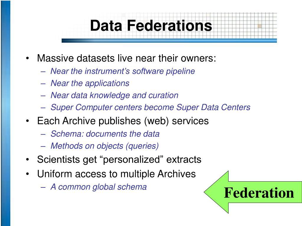 Data Federations