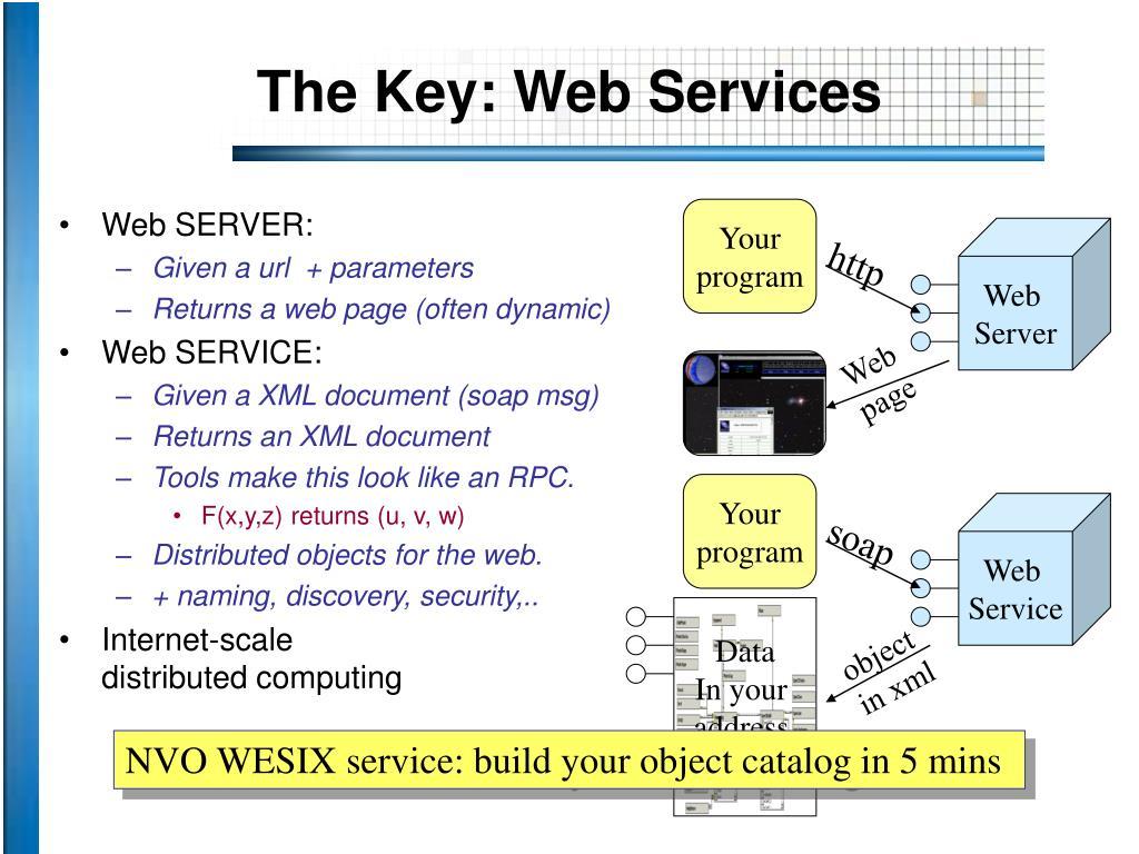 The Key: Web Services