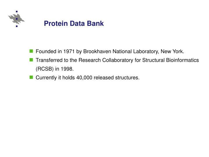 Protein data bank3