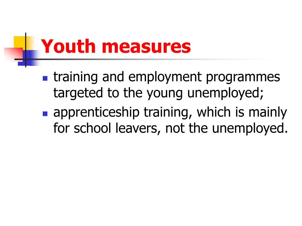 Youth measures