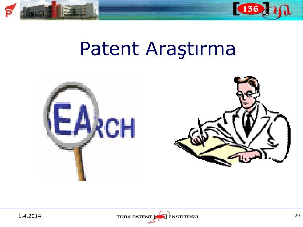 Patent Araştırma