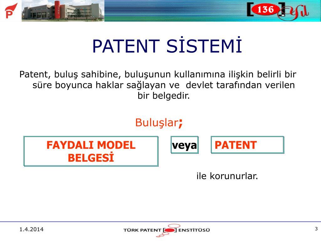 FAYDALI MODEL BELGESİ