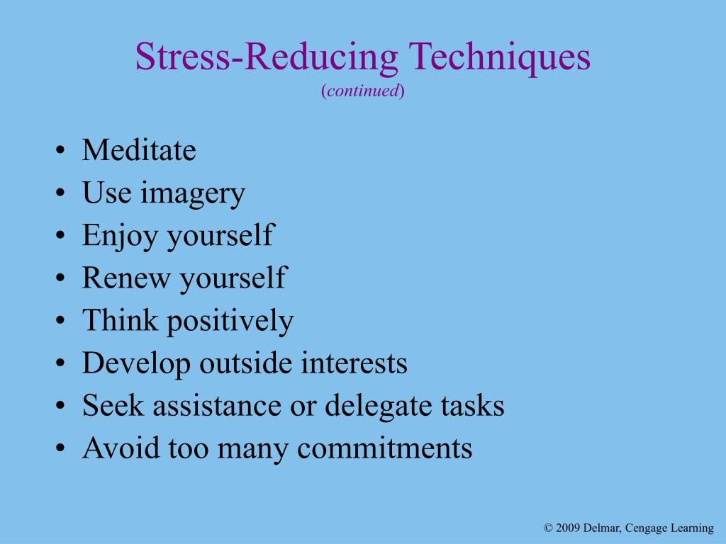 Stress-Reducing Techniques