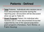 patients defined