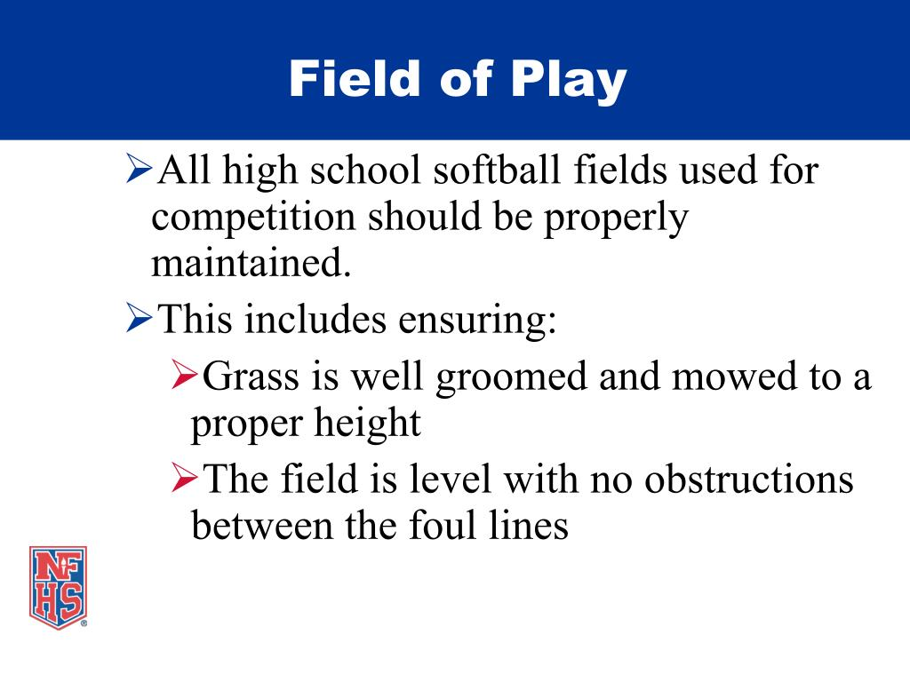 Field of Play