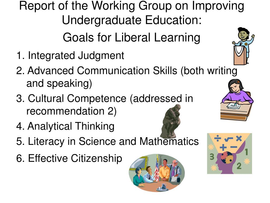 Report of the Working Group on Improving Undergraduate Education: