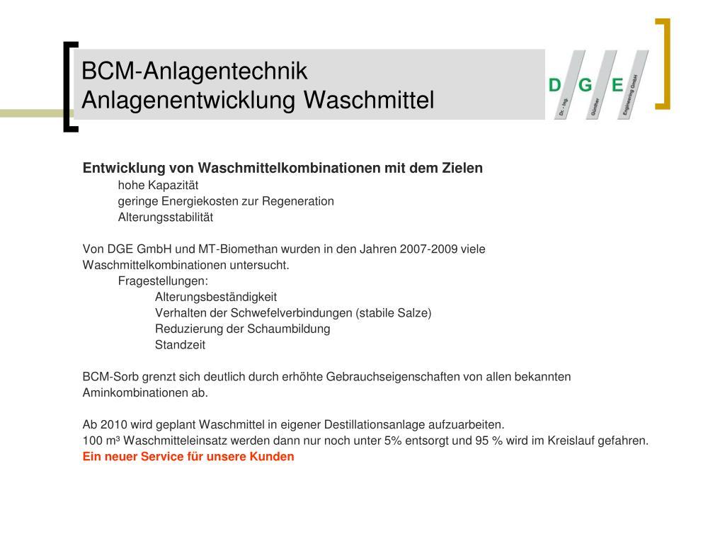 BCM-Anlagentechnik