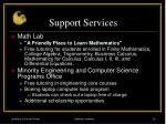 support services29
