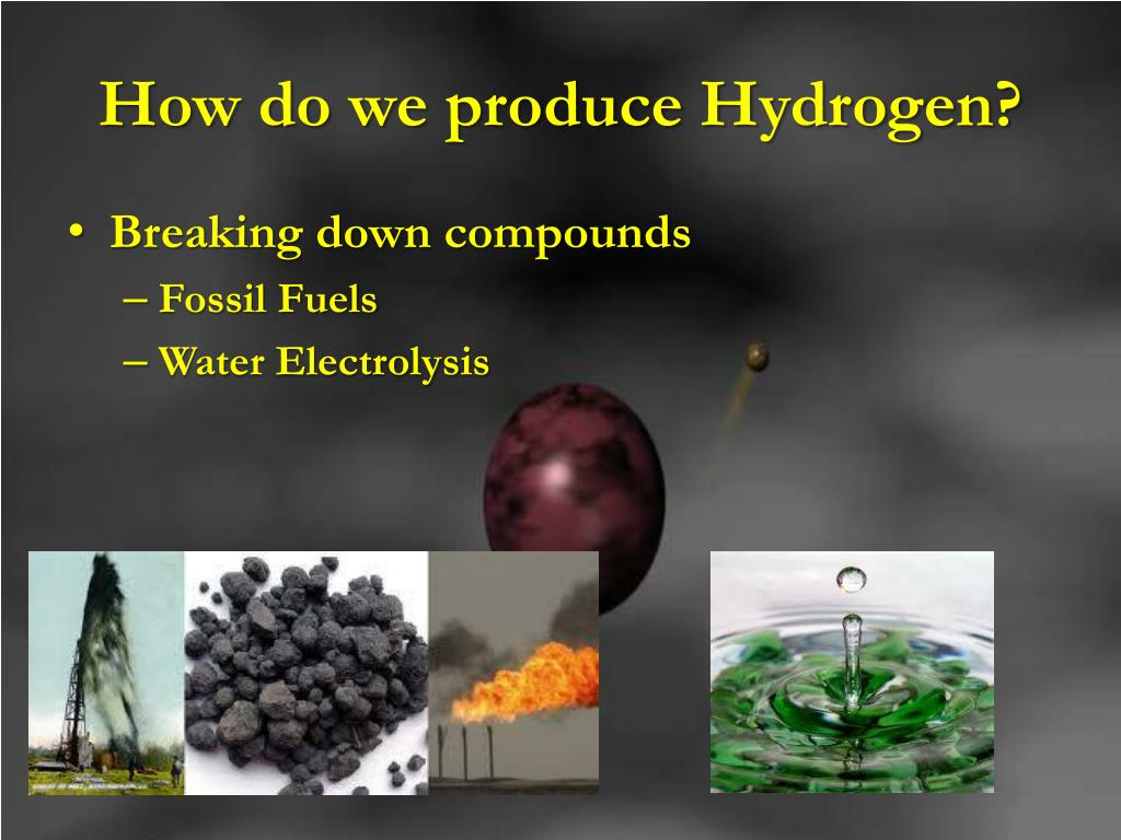 How do we produce Hydrogen?