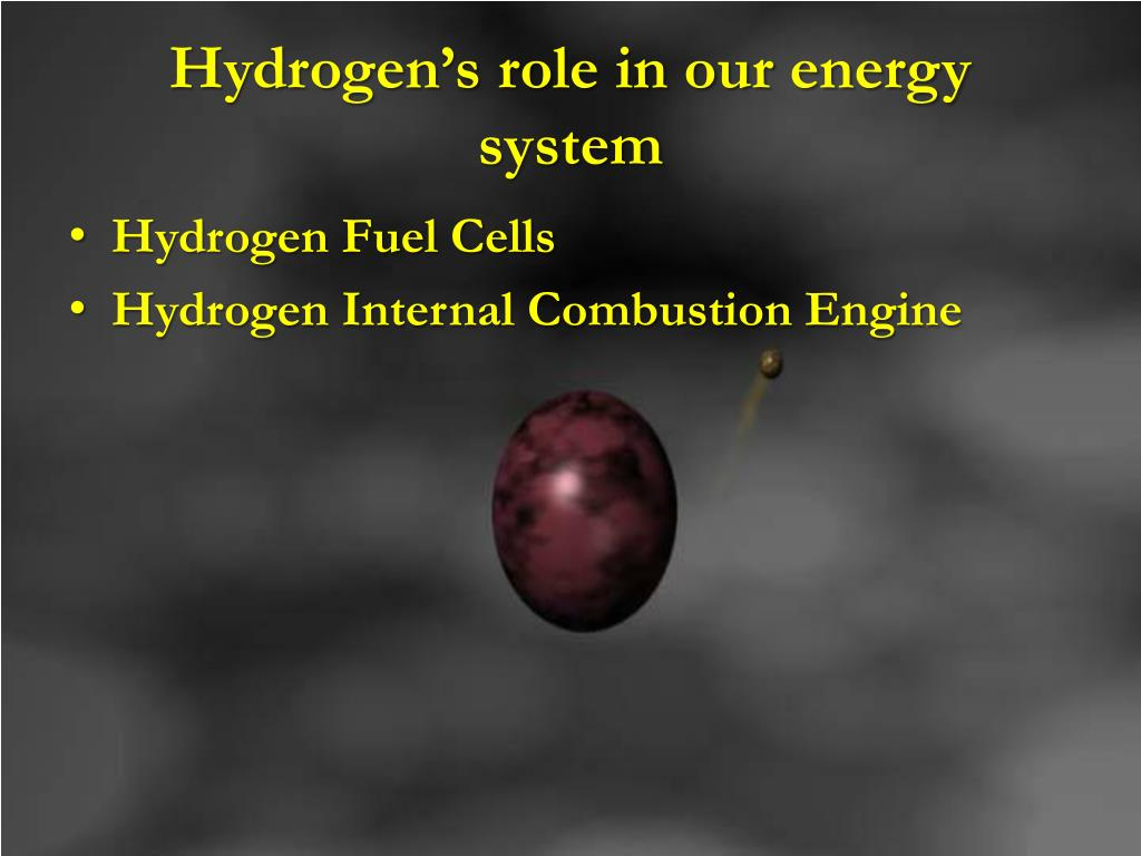 Hydrogen's role in our energy system