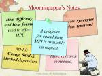 moominpappa s notes