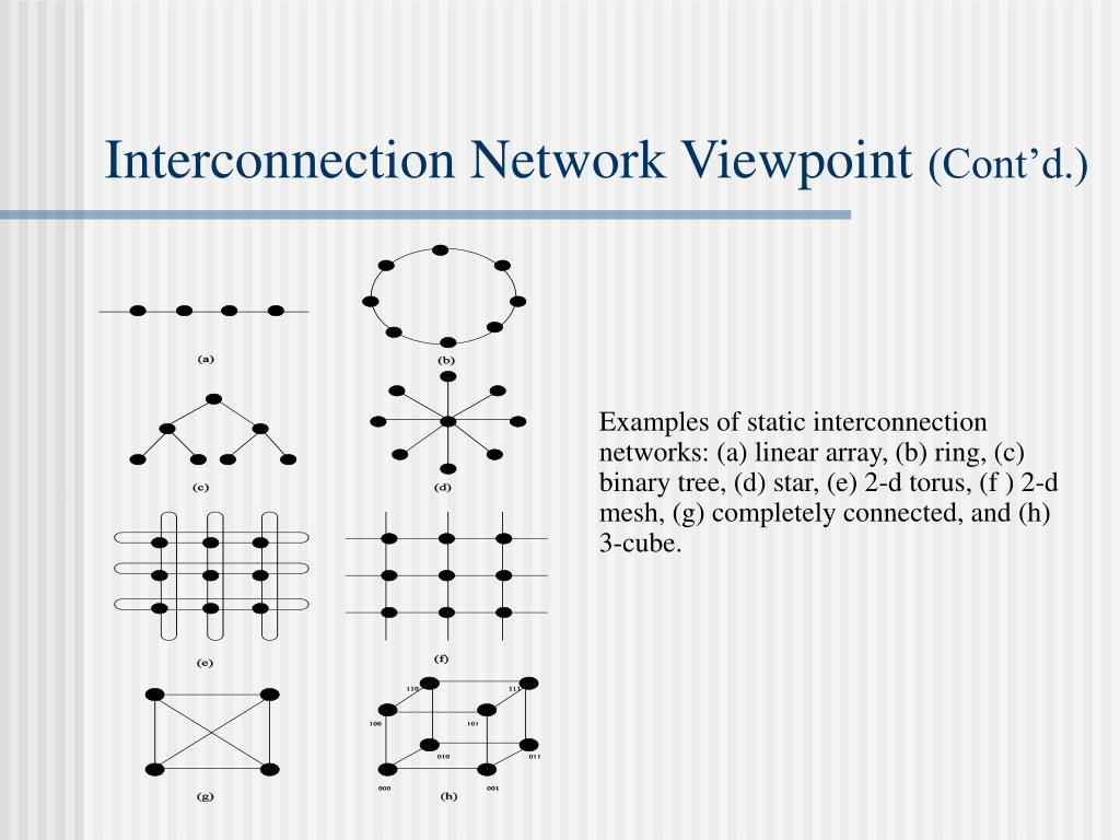 Interconnection Network Viewpoint
