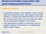 general principles associated with good imaging performance54
