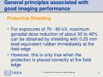 general principles associated with good imaging performance57