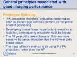 general principles associated with good imaging performance63