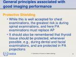 general principles associated with good imaging performance64