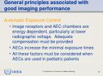 general principles associated with good imaging performance69