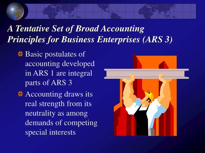 accounting postulates