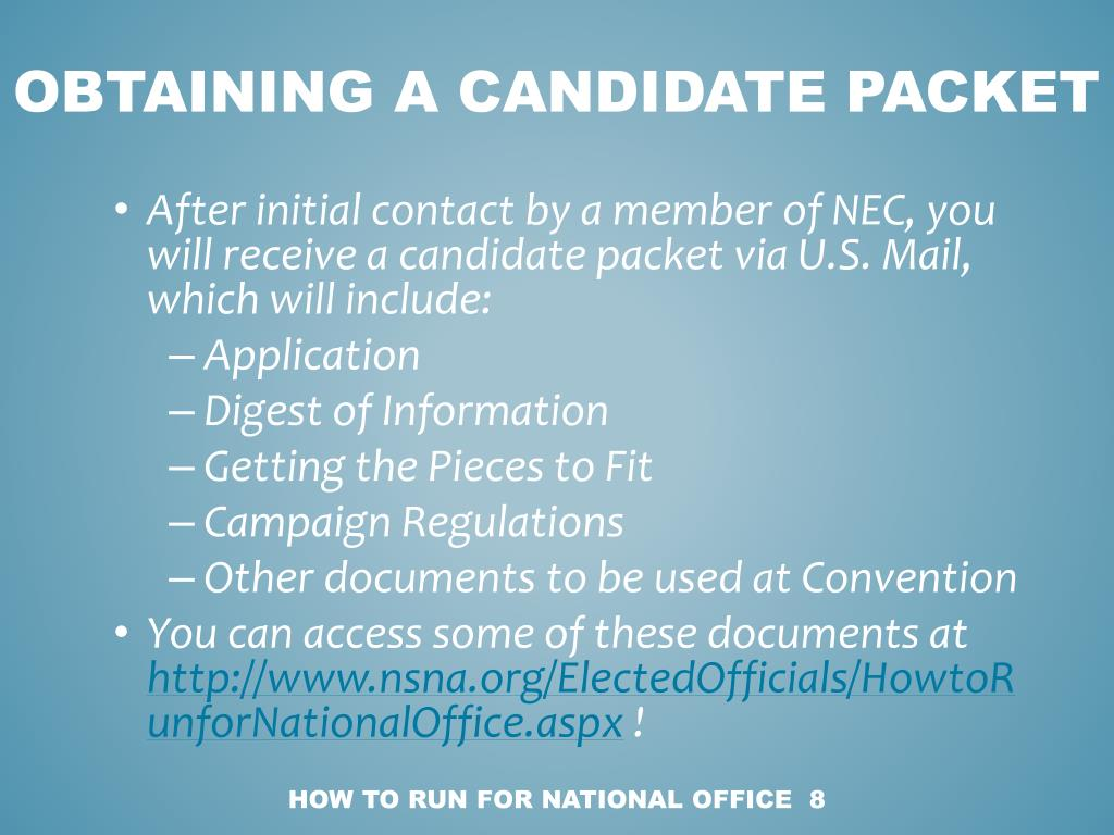 Obtaining a candidate packet