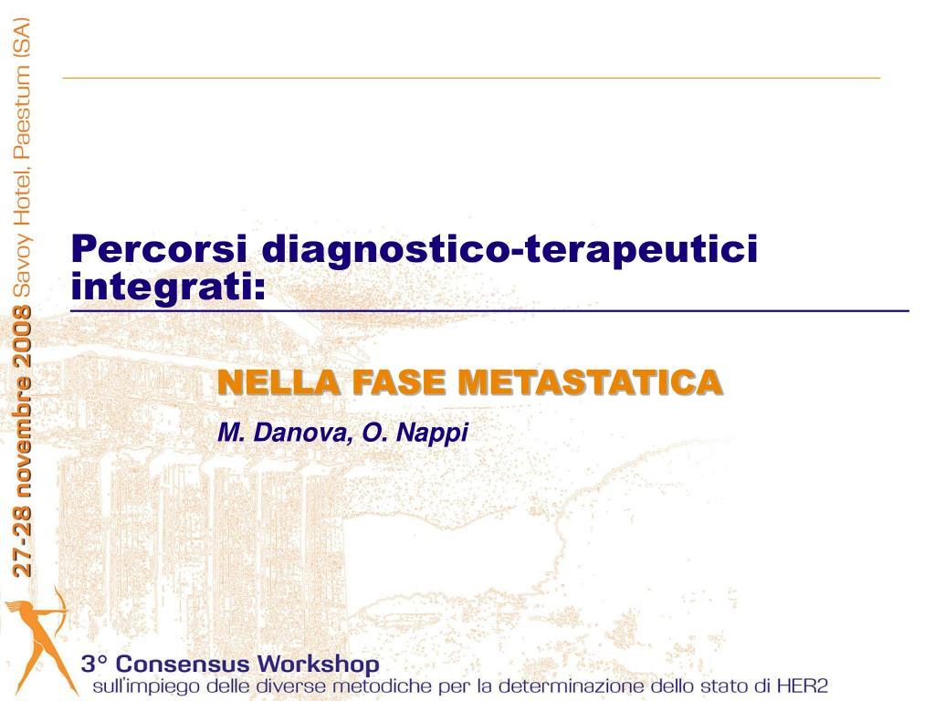 Percorsi diagnostico-terapeutici