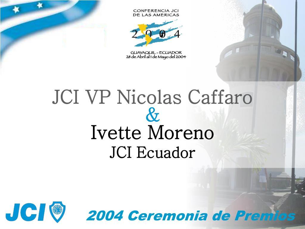 JCI VP Nicolas Caffaro