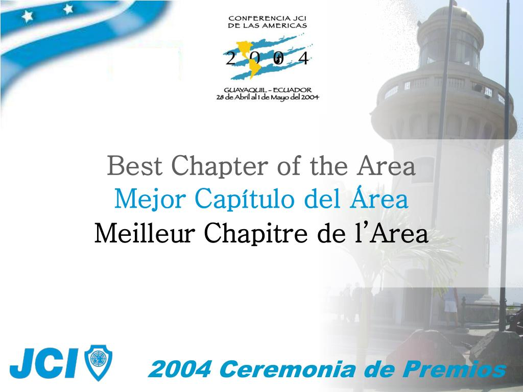 Best Chapter of the Area